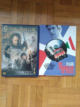 El señor de los anillos, Un trabajo en Italia DVD.