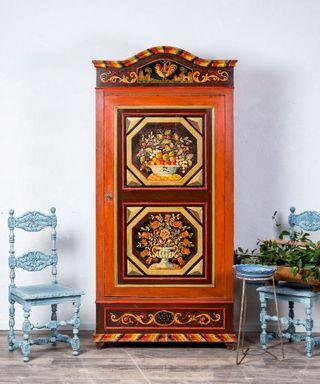 Armario Antiguo Restaurado Varese
