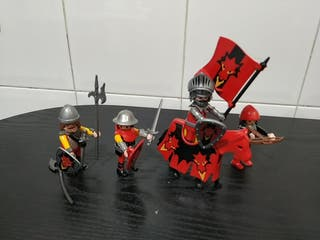 Playmobil 3319 caballero del dragón rojo
