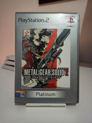 Metal Gear Solid 2: SOL - Sony PS2