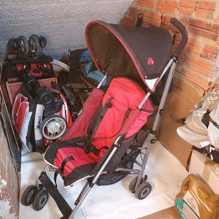 silla ligera de paseo con saco de invierno