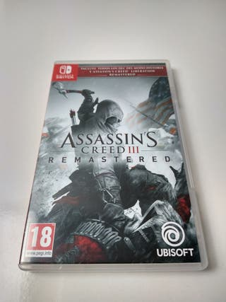 Assassin's Creed 3 remastered - Nintendo Switch