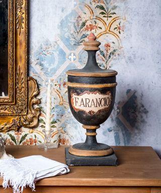 Copa Decorativa Estilo Parisino