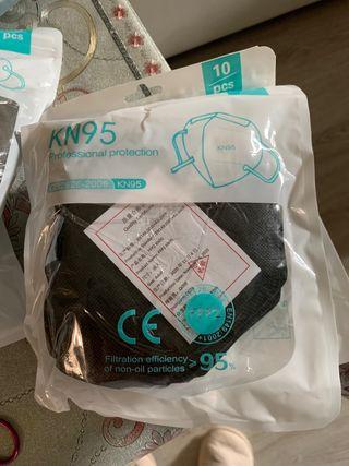 Pack 10 Mascarillas fpp2 kn95 certificadas