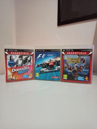 Pack Juegos Variados - Sony PS3