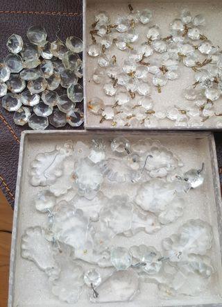 Cristal lámparas antiguas