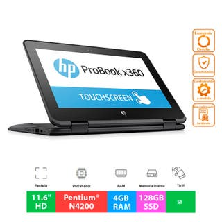 "HP ProBook X360 11 G1 EE - 11.6""HD Táctil - 128GB"