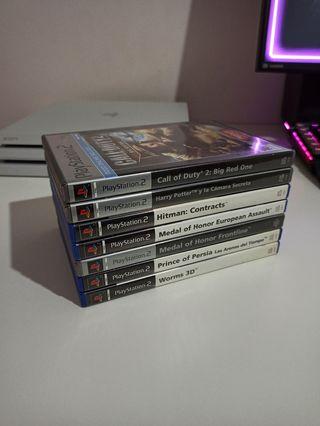 Pack Juegos Variados - Sony PS2