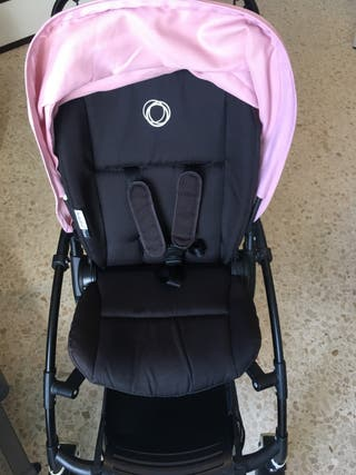 Bugaboo bee plus All black + Complementos