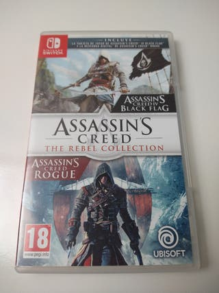 Assassin's Creed the Rebel coleccion