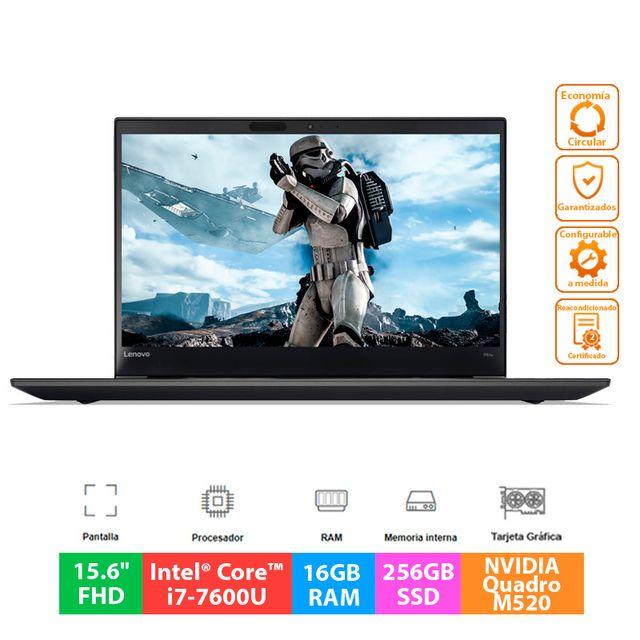 "Lenovo ThinkPad P51s - i7 - 16GB - 256GB - 15.6"""