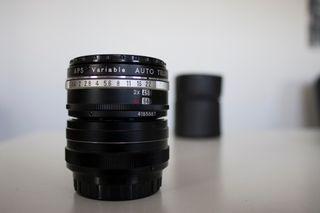 objetivo camara fotografica