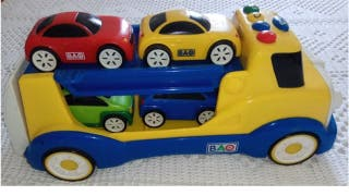Camión portacoches infantil