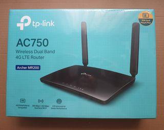 Router 4G TP-LINK MR200(LIBRE Y NUEVO)