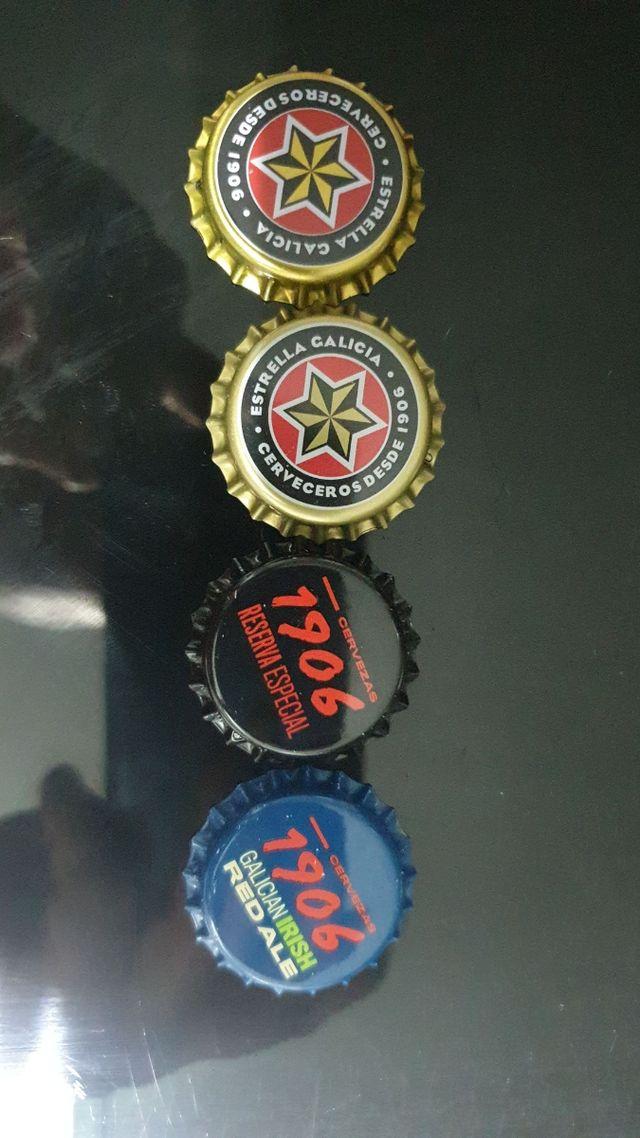 Chapas cerveza estrella galicia NUEVAS