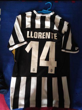 Camiseta Juventus Llorente futbol italia turin