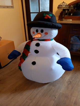navidad, muñeco nieve
