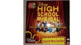 Juego de mesa con DVD High School Musical
