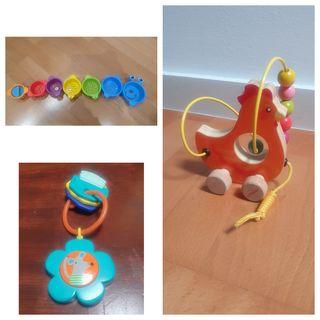 lote primeros juguetes