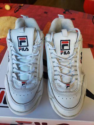 zapatillas fila original n° 38