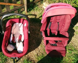 Pack capazo y silla de paseo Jané