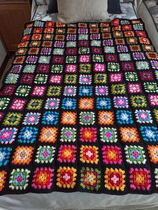 manta crochet-ganchillo