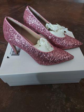 zapatos de tacon talla 36