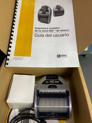 Vendo impresora portátil térmica Zebra MZ-320