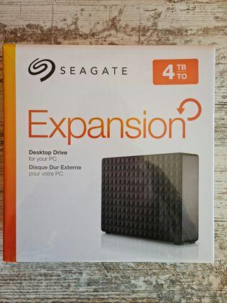 Disco Duro Seagate 4TB NUEVO, GARANTÍA 2 AÑOS.