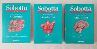 Libros anatomía Sobotta mini