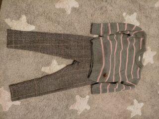 Pantalón y jersey