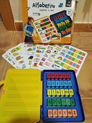 Alfabetino, aprendo a leer