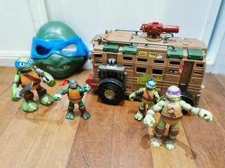 Set de tortugas ninja