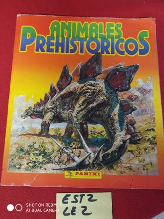 ÁLBUM ANIMALES PREHISTORICOS