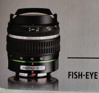 Objetivo Fish Eye Pentax 10-17mm