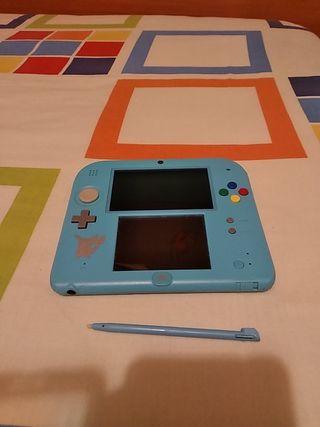 Nintendo 2ds edicion Pokemons Sol y Luna