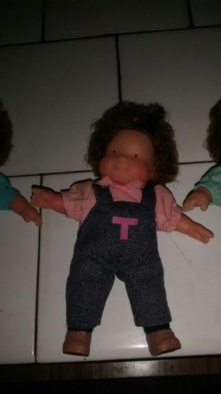 muñecas las tres mellizas antiguas
