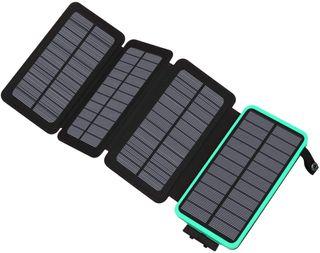 Cargador Solar 25000mAh Power Bank Portatil