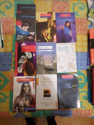 Libros en valenciano secundaria