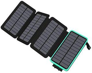 cargador solar 25000mah powerbank . Nuevo.