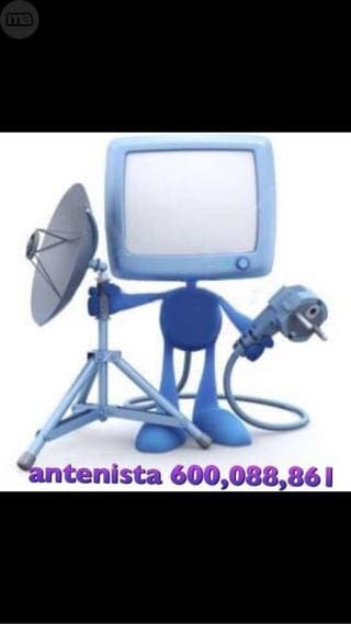 Arreglar aparato antena satélite tdt