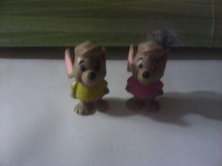 lote figuras 2 ratones disney