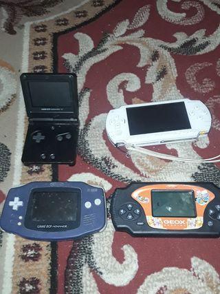 PSP Nintendos advance