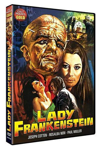 DVD LADY FRANKENSTEIN