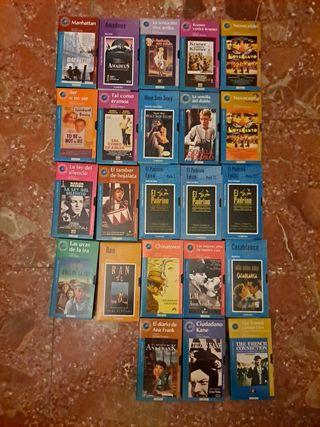 Colección 23 películas vhs