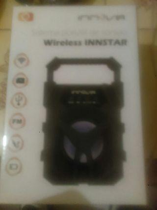 wirless innstar sistema portatil de sonido