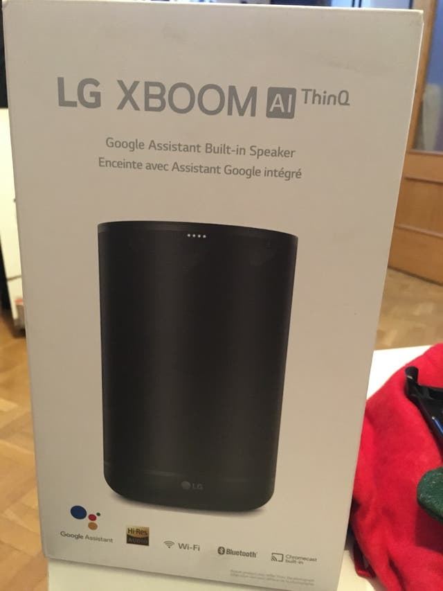 Lg xboom AI thinQ wk7 with meridian