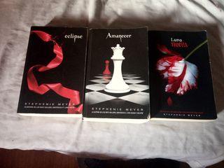 Libros de Saga Crepúsculo