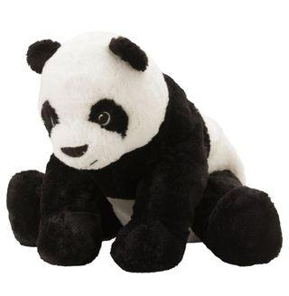 Peluche Panda de 30 cm., de Ikea.