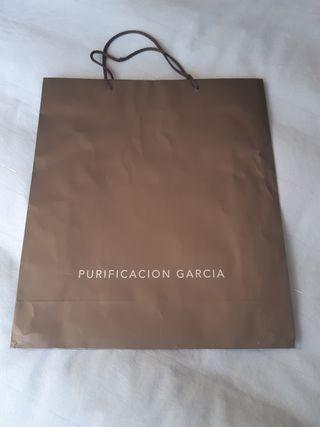 PURIFICACIÓN GARCÍA Bolsa de compra